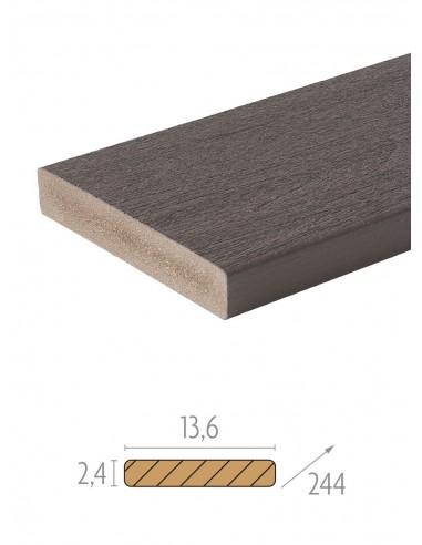 Planches rives en bois composite