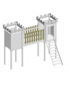 2 hekken Kasteel