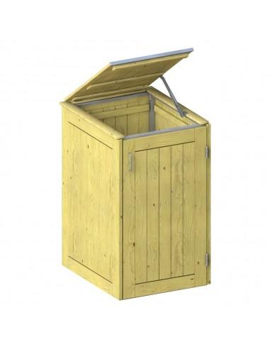 Cache pour 1 container poubelle