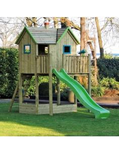Cabane d'enfant en hauteur