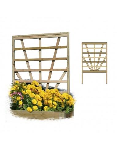 Treillages Decora pour bacs à fleurs