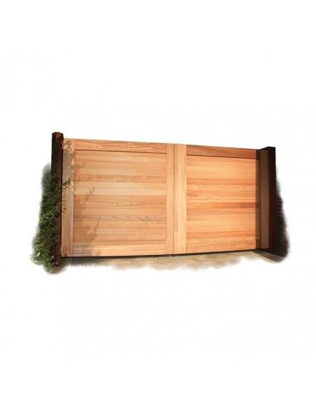Hardhout tuinpoort