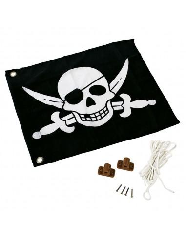Drapeau pirate ou princesse de balançoire