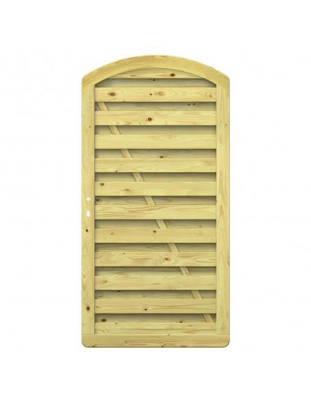 Porte de jardin en bois