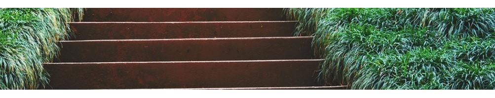 Escaliers de jardin