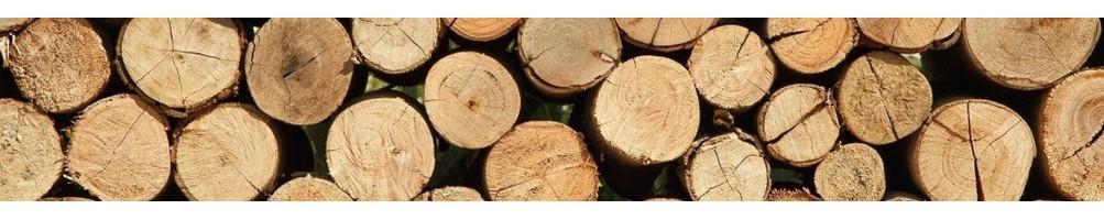 Piquets et rondins en bois