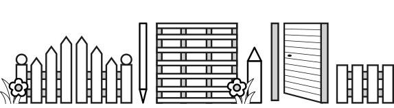 Panneaux, barrières et clôtures