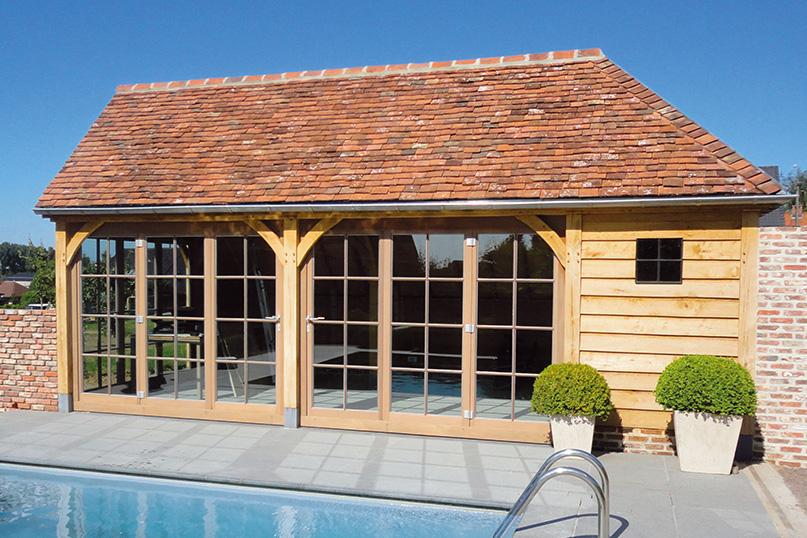 Abris de jardin en bois - Poolhouse