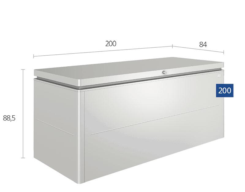dimensions du grand coffre