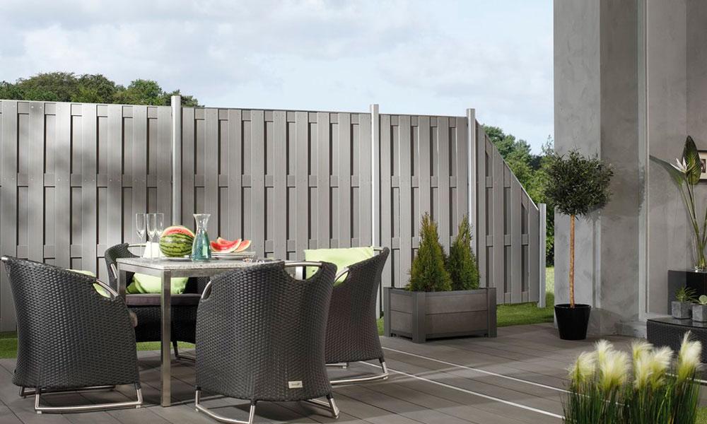 bois composite pour palissade de terrasse