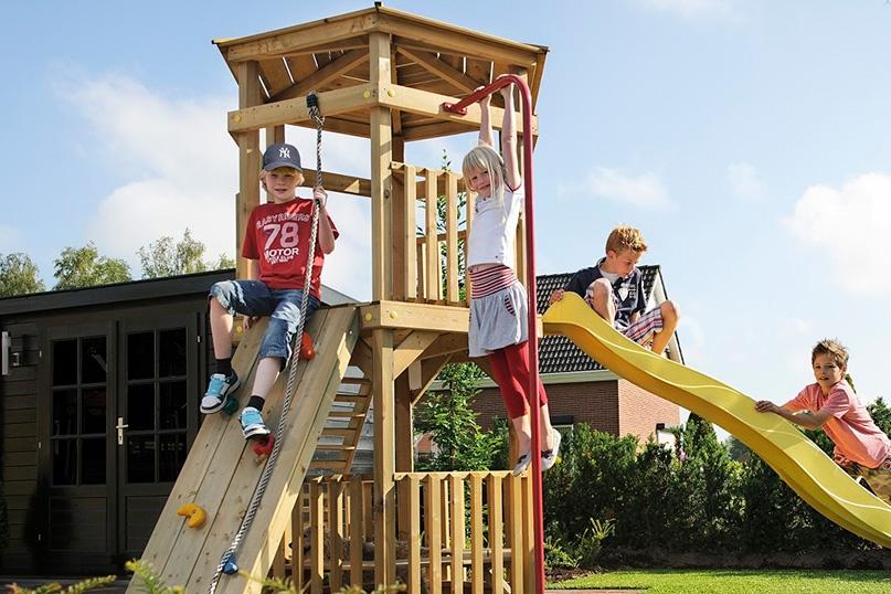 jeux de jardin en bois pour enfants