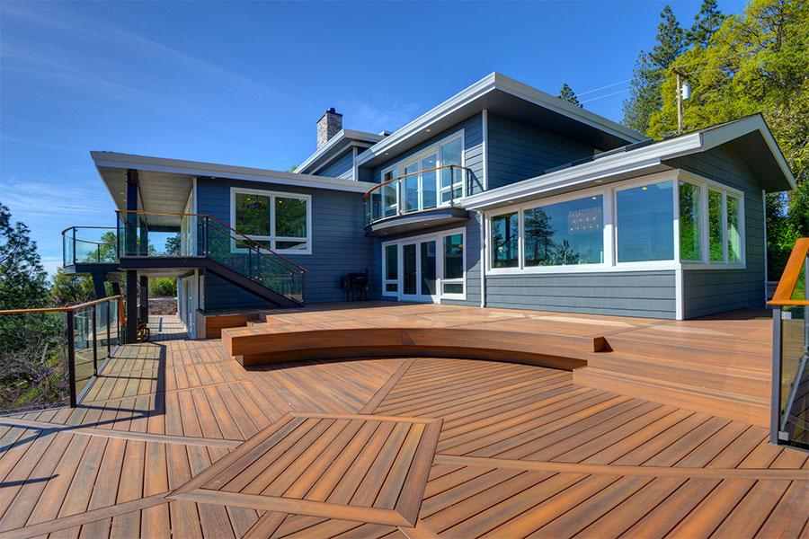 bois de terrasse en composite