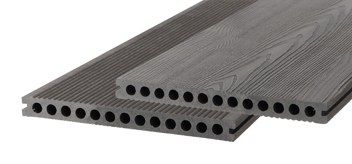 lame de terrasse bois composite WPC anthracite