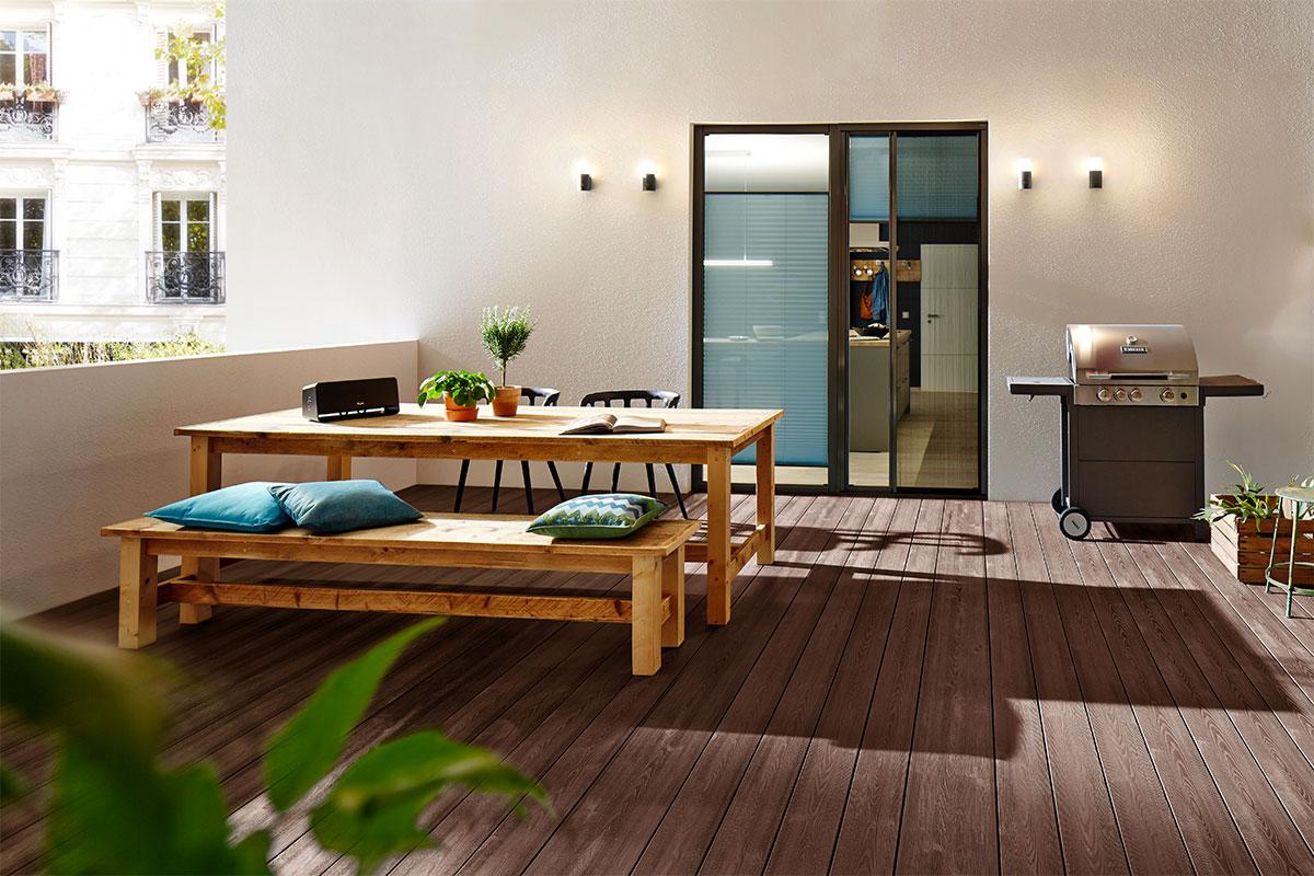 lame terrasse en bois composite deck WPC