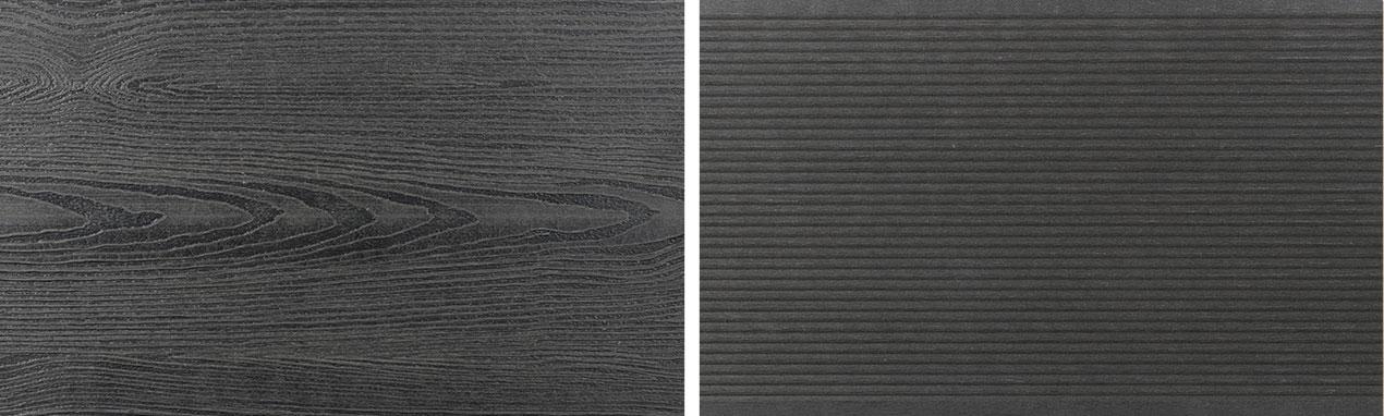 planche de terrasse bois composite WPC anthracite
