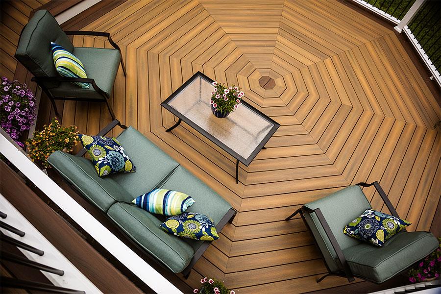 planche en bois composite imitation bois
