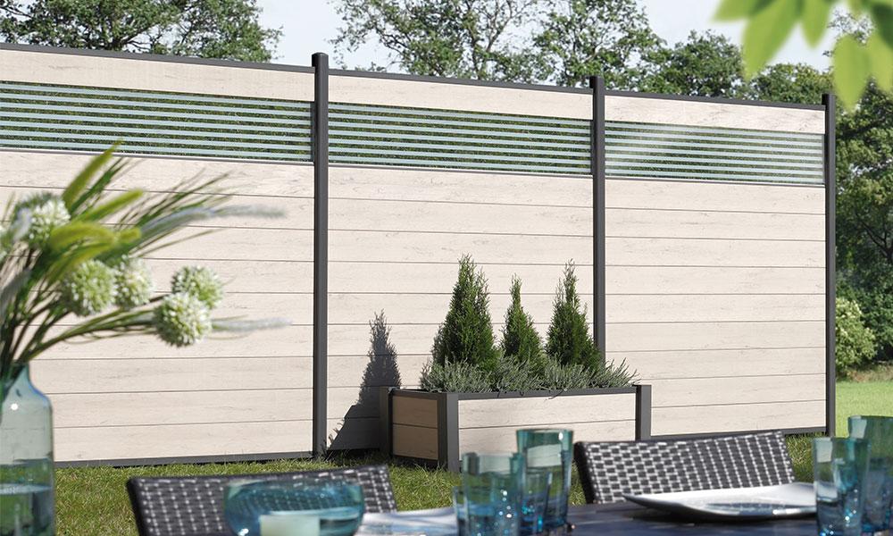 planche de palissade de jardin