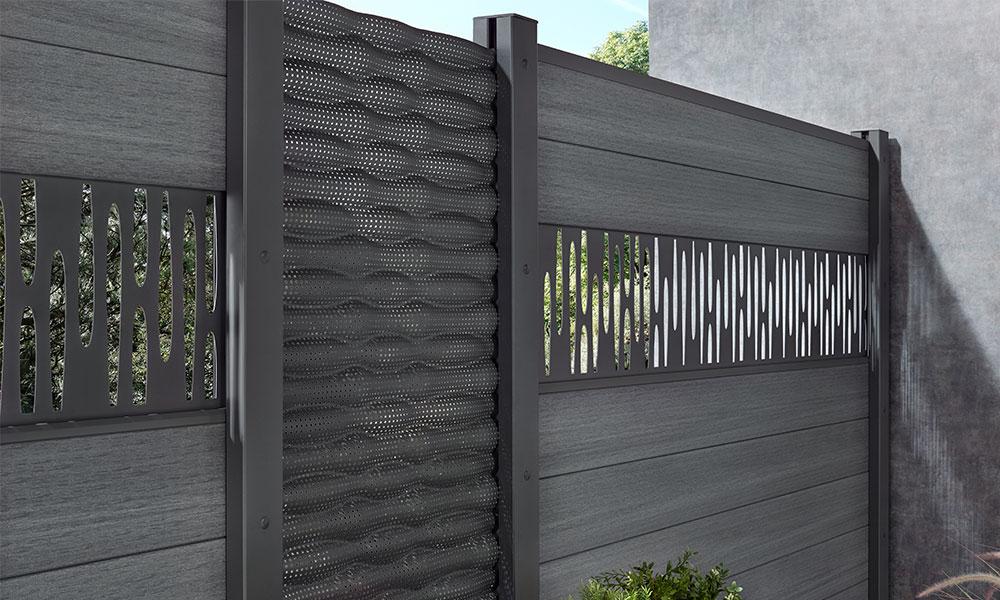 plank en decoratief paneel voor samengestelde palissade