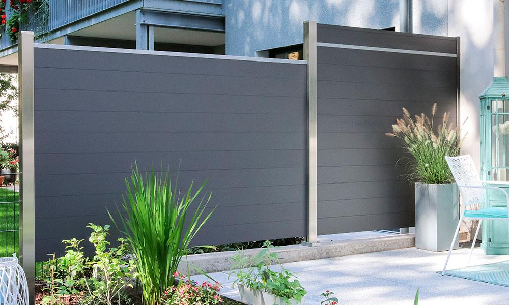 separation terrasse-jardin adjacent voisin