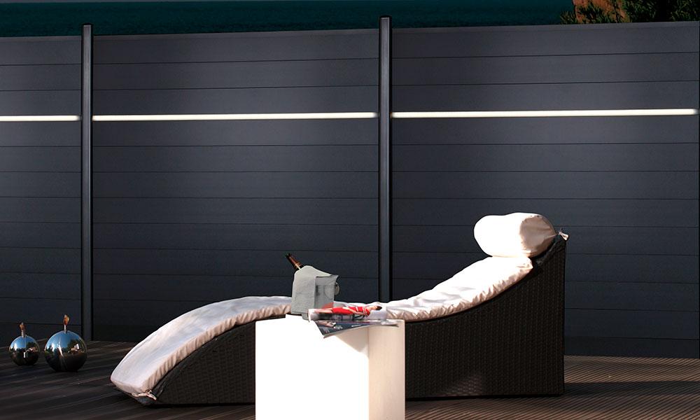 palissade de terrasse
