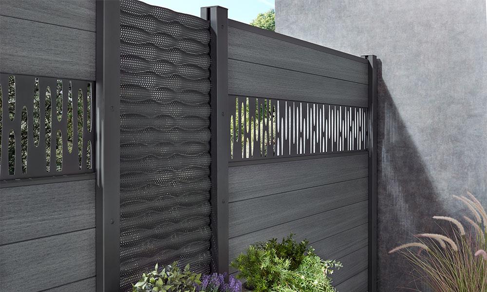 palissade decoratieve panelen Flow