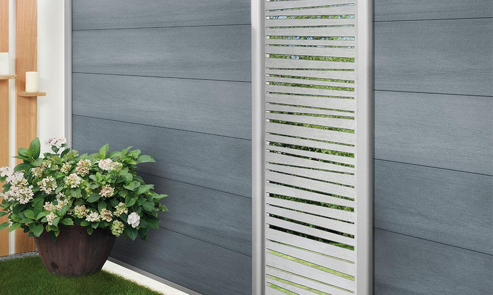 panneaux décoratif pour palissades Linea