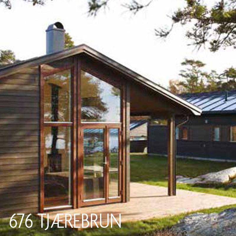 Transparante beits voor buiten - kleur 676 hout tuinhuis