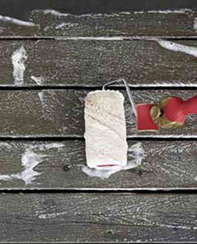 Laver la terrasse en bois