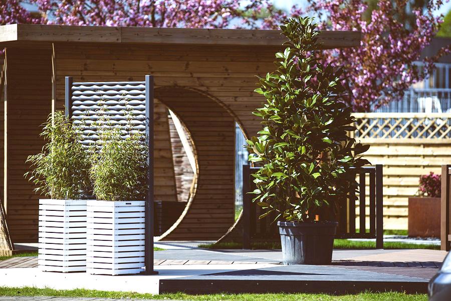 showroom magasin de bois de jardin - Zaventem