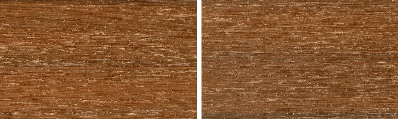 terrasse en bois composite vintage teck