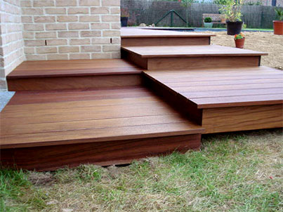 plancher en bois exotique Ipé