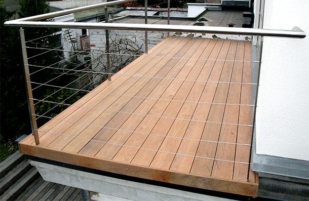 terrasse en planche Ipé