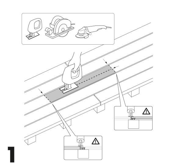 remplacement d'une lame de terrasse avec des vis 1