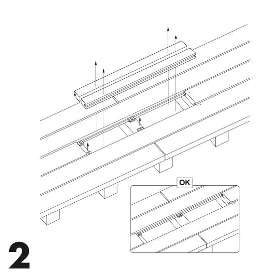 remplacement d'une lame de terrasse avec des vis 2