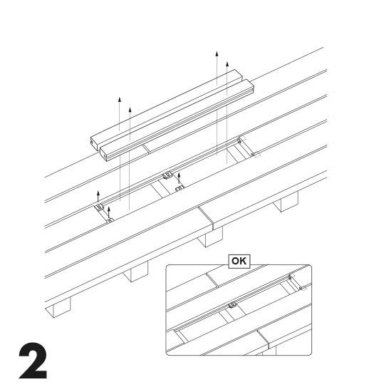 remplacement d'une lame de terrasse avec des clips 2